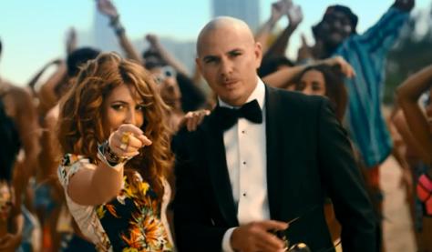 Arianna and Pitbull