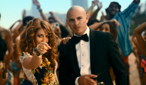 Arianna and Pitbull